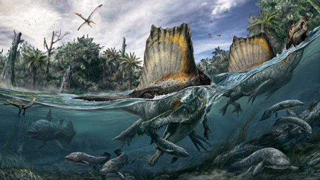 Spinosaurus, král druhohor