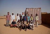 Účastníci 5. výkopové sezóny archeologické expedice do Wad Ben Naga.