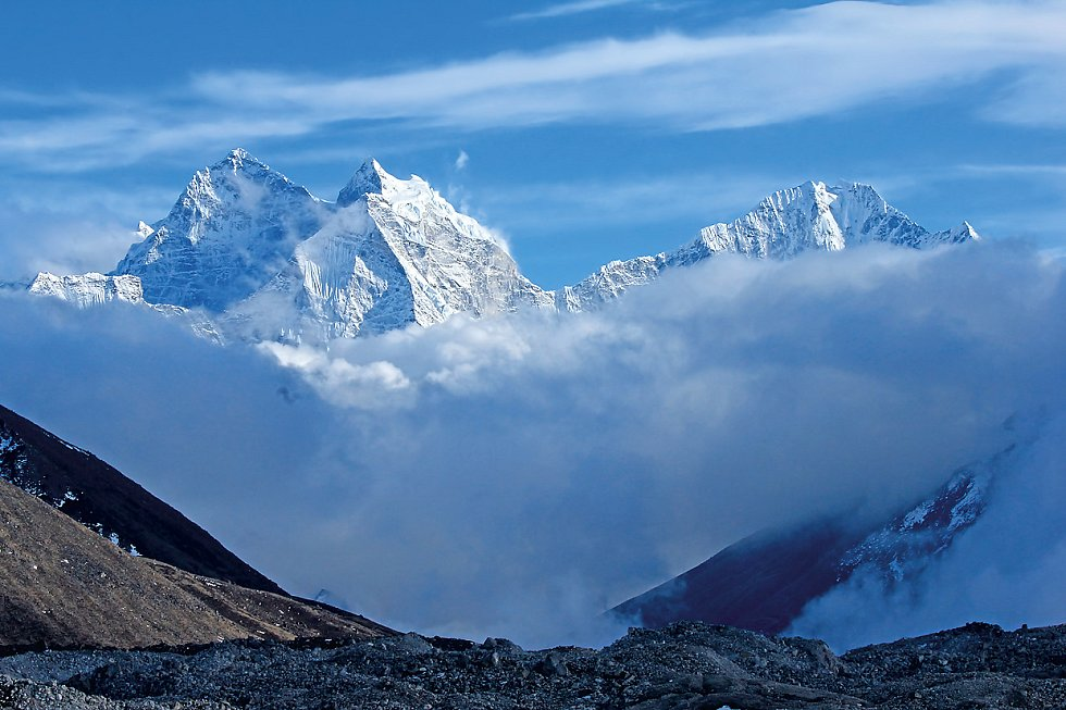 Cesta na osmitisícovku Lhotse