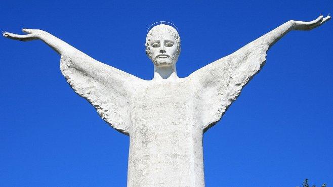 Soch Ježíše Krista jsou milióny. Ale tahle je pátá nejvyšší