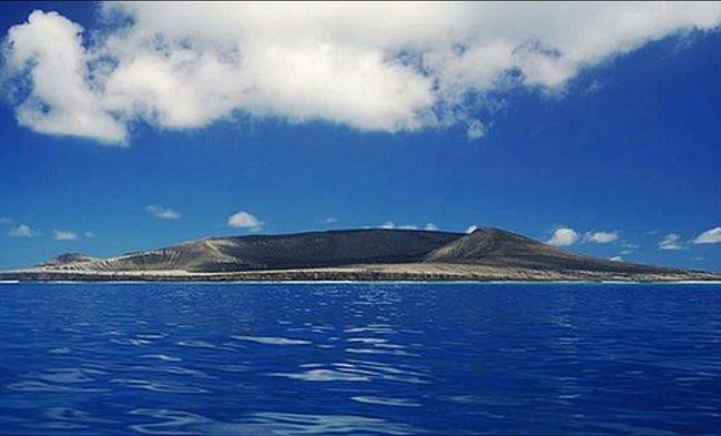Nový ostrov leží poblíž Nového Zélandu.