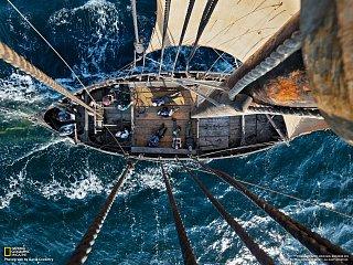 Replika vikingské lodi