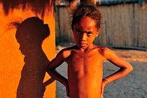 Mladá kráska za Madagaskaru