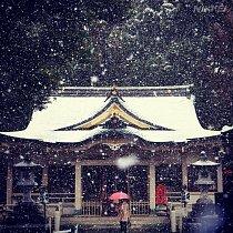 Nezvykle studená fronta Japonsko zaskočila.