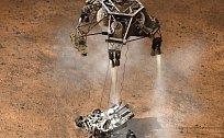 ONLINE: Na Marsu úspěšně přistála sonda Curiosity