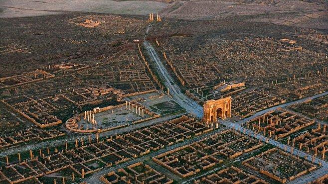 Exkluzivně pro NG: Hranice římské říše dělily dva světy. Dnes z ní najdeme jenom ruiny
