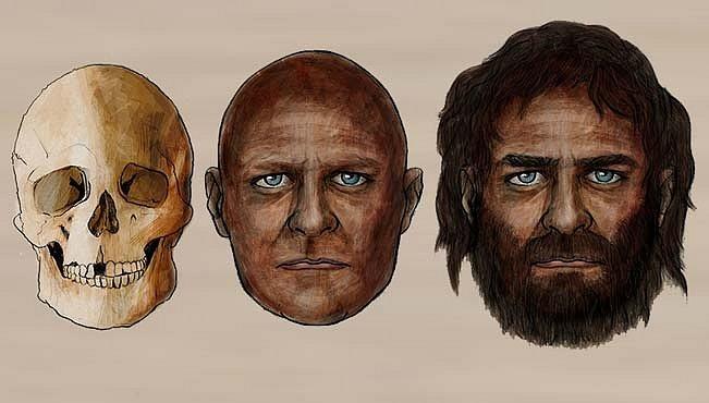 Tvář lovce stará 7000 let. Překvapují jeho oči