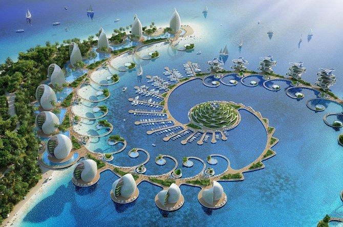 Eko resort slibuje nulové emise, nulový odpad, nulovou chudobu.