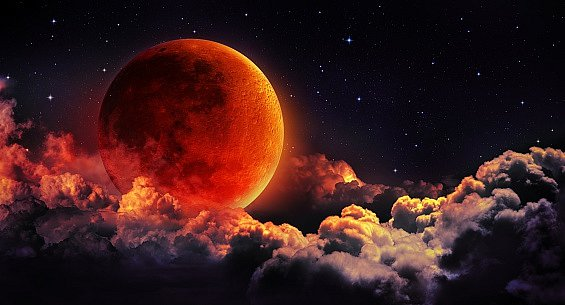 """Od roku 1900 se """"zatmění superměsíce"""" událo pouze pětkrát."""