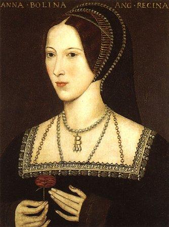 Anna Boleynová, která ztratila hlavu, protože pro ni ztratil hlavu král.