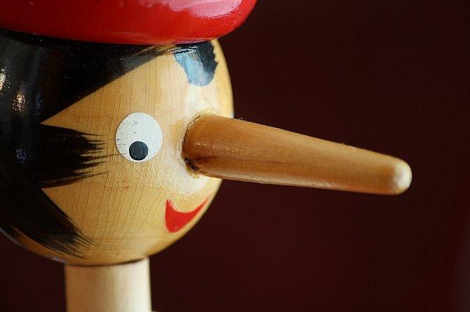 Pinochio se také zřejmě bál trestu