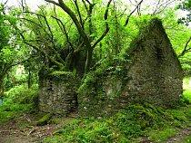Stezka Kerry Way mezi Sneemem a Kenmare, Irsko