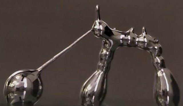 Kouzla s tekutým kovem nabízejí nové možnosti 3D tisku