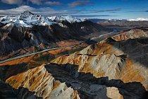 Národní park a rezervace Gates of the Arctic, Aljaška 70,8 kilometru chráněno od roku 1980. FOTO: Michael Melford pro National Geographic