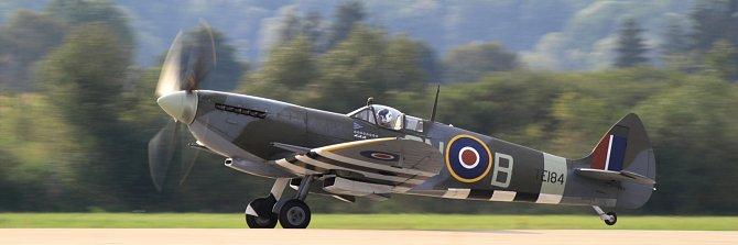 Symbol bitvy oBritánii: Stíhací letoun Supemarine Spitfire