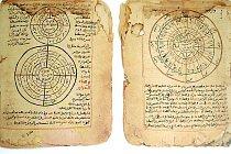 Rukopisy s matematickým a astronimickými odbornými texty.