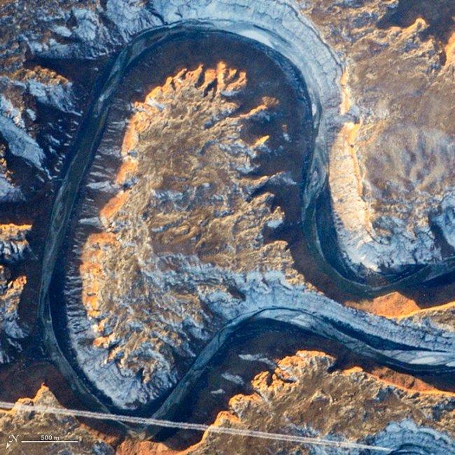Písmeno A – Zelená řeka v Utahu