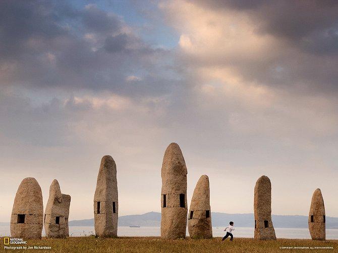 Stojící kameny v Galicii