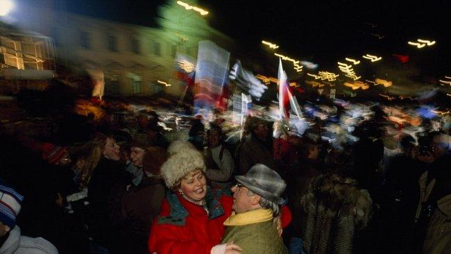 Československo na stránkách NG: Česko-slovensko, sametový rozvod (1993)