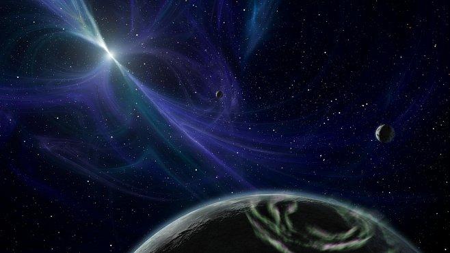 Paprsky ve vesmíru jsou přesné jako hodinky. Něco je ale občas ruší. Nikdo ale neví co