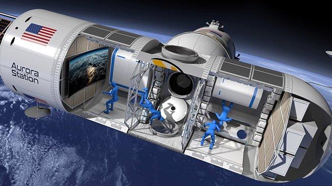 Stanice Aurora = první vesmírný hotel