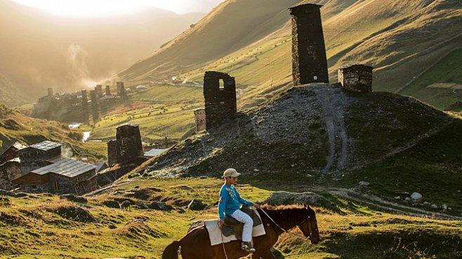 Středověké úkryty v horách