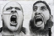 Nápadité graffiti východního Londýna