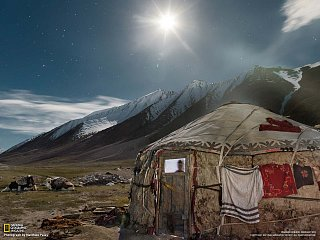 Jurta Kyrgyzů (Afghánistán)