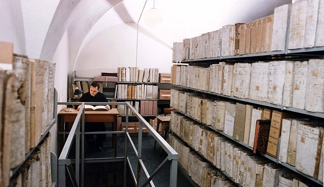 Exkluzivně pro NG: Pohled za brány Vatikánského tajného archivu