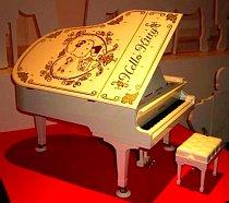 Hello Kitty dětský klavír.