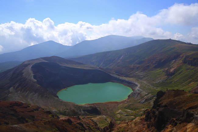 Kráterová jezera po celém světě