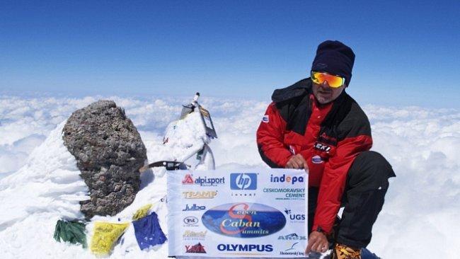 7 vrcholů 7 kontinentů: Miroslav Caban na Elbrusu. Velká nebezpečná sjezdovka