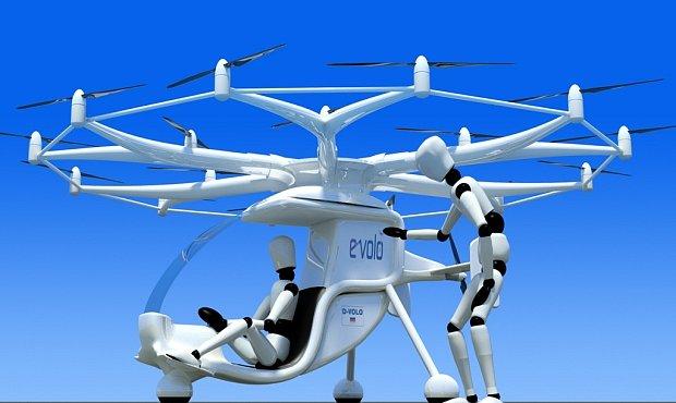 Rodinná helikoptéra s 18 vrtulemi má změnit dopravu. Je to jen další sen?