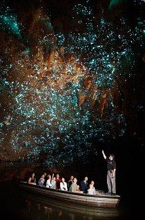 Jeskyně Waitomo je naprostý unikát. Nic podobného nikde neuvidíte.