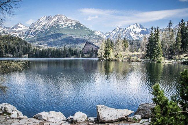 Nádhernou přírodu nabízí také Rakouské Alpy.