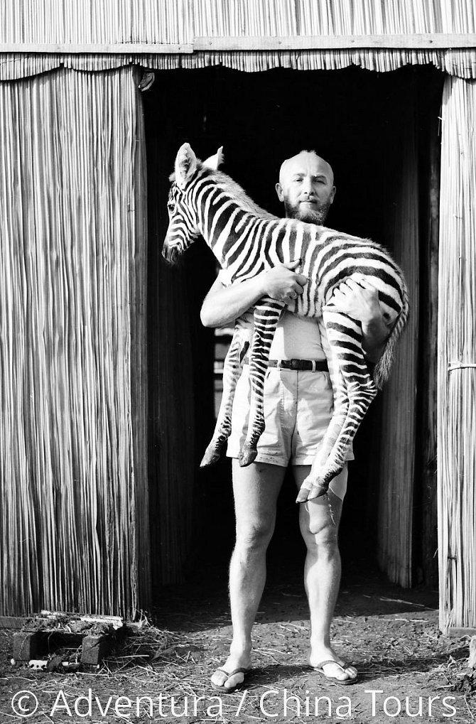 Josefa Vágner, zakladatel afrického safari ve Dvoře Králové nad Labem