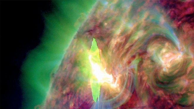 Masivní skvrna na Slunci předpovídá příchod velkých problémů