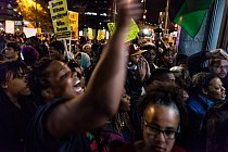 Demonstranti ve Washingtonu.