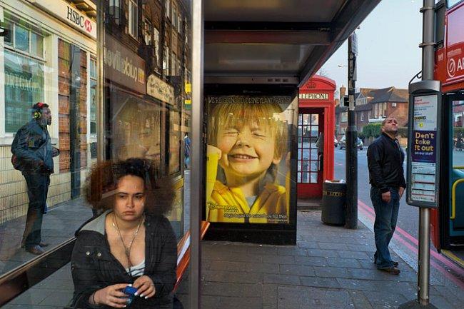 Stamford Hill v městské části Hackney je místem, kudy procházejí lidé z různých končin světa.