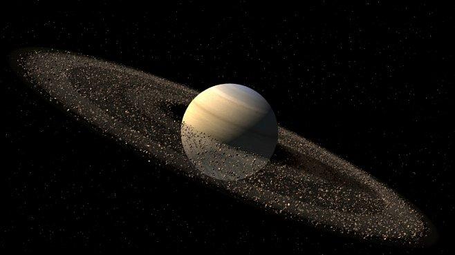 Zrození nového měsíce: Saturn je možná v očekávání