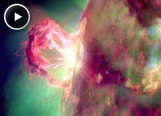 VIDEO: Nejkrásnější erupce na Slunci, jaké jste viděli