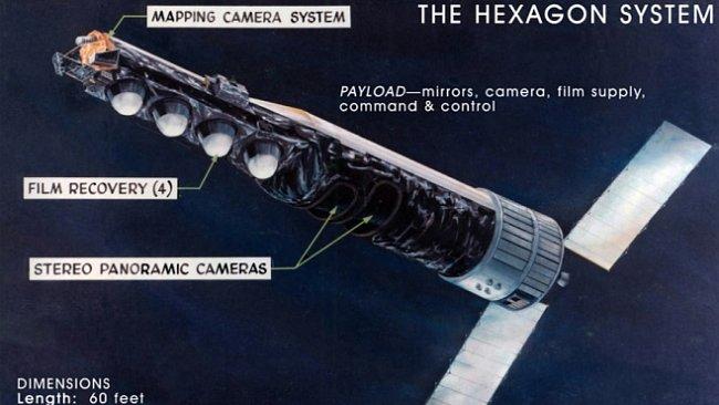 Nejlepší špionážní satelit studené války vyráběli Nepodplatitelní