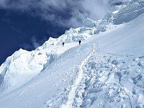 Tady někde zmizel před dvěma lety jeden z nejlepších lezců světa Jean Christopher Lafaille.