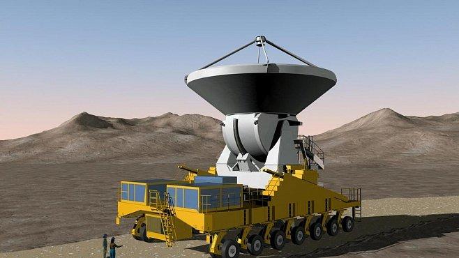 Největší dalekohled na světě se jmenuje ALMA. Bude pátrat po počátcích vesmíru