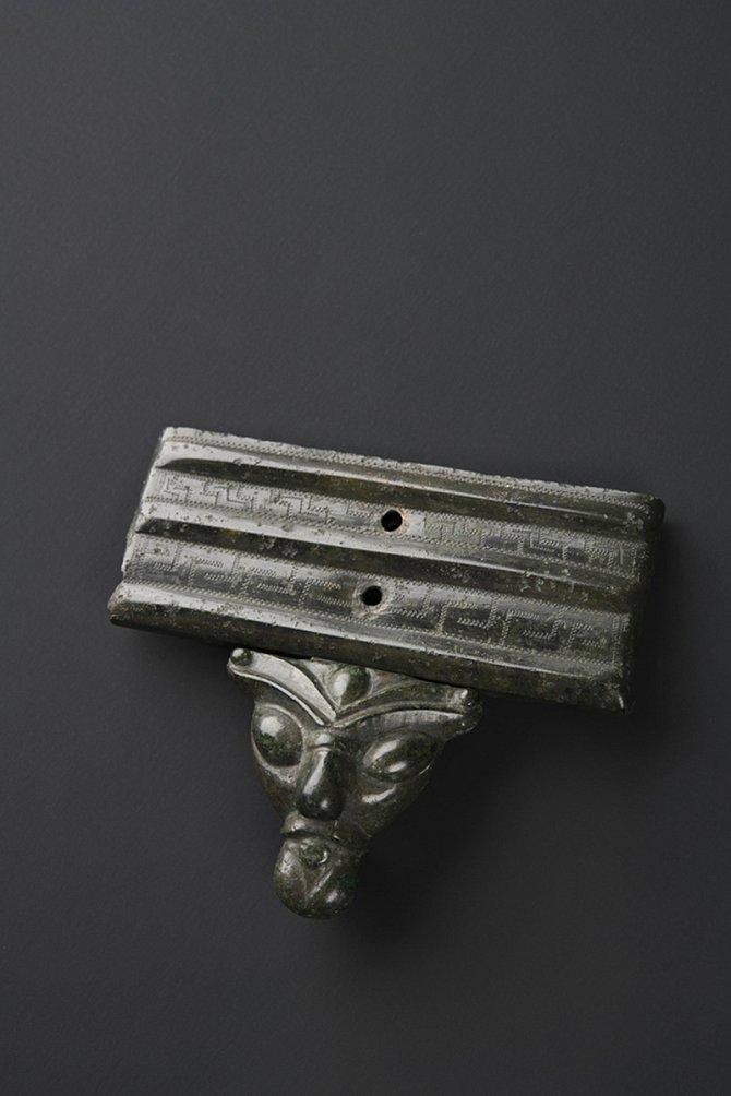 Bronzová zápona ze Želkovic