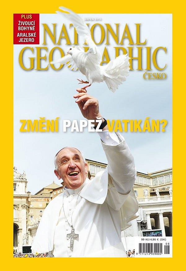 České vydání National Geographic - srpen 2015.