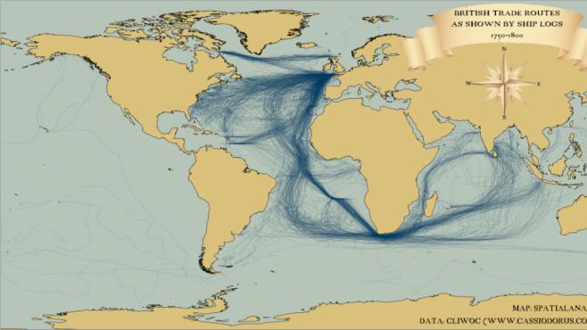 ANIMACE: Lodní doprava trošku nabobtnala. Kam se plavilo před 200 lety?