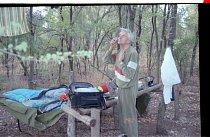 Gentlemanovo ráno v australské buši. první návštěva Austrálie, rok 1992.