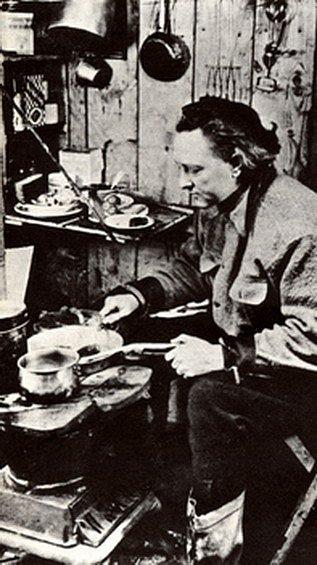 R. E. Byrd v Předsunutém táboře.