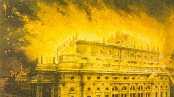 Požár Zlaté kapličky